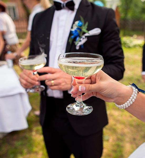 Las mejores bebidas para bodas