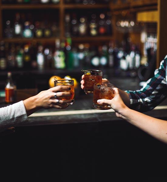 Bebidas para fiesta de empresa