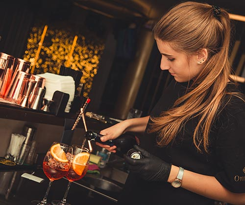 Contratar camareros profesionales