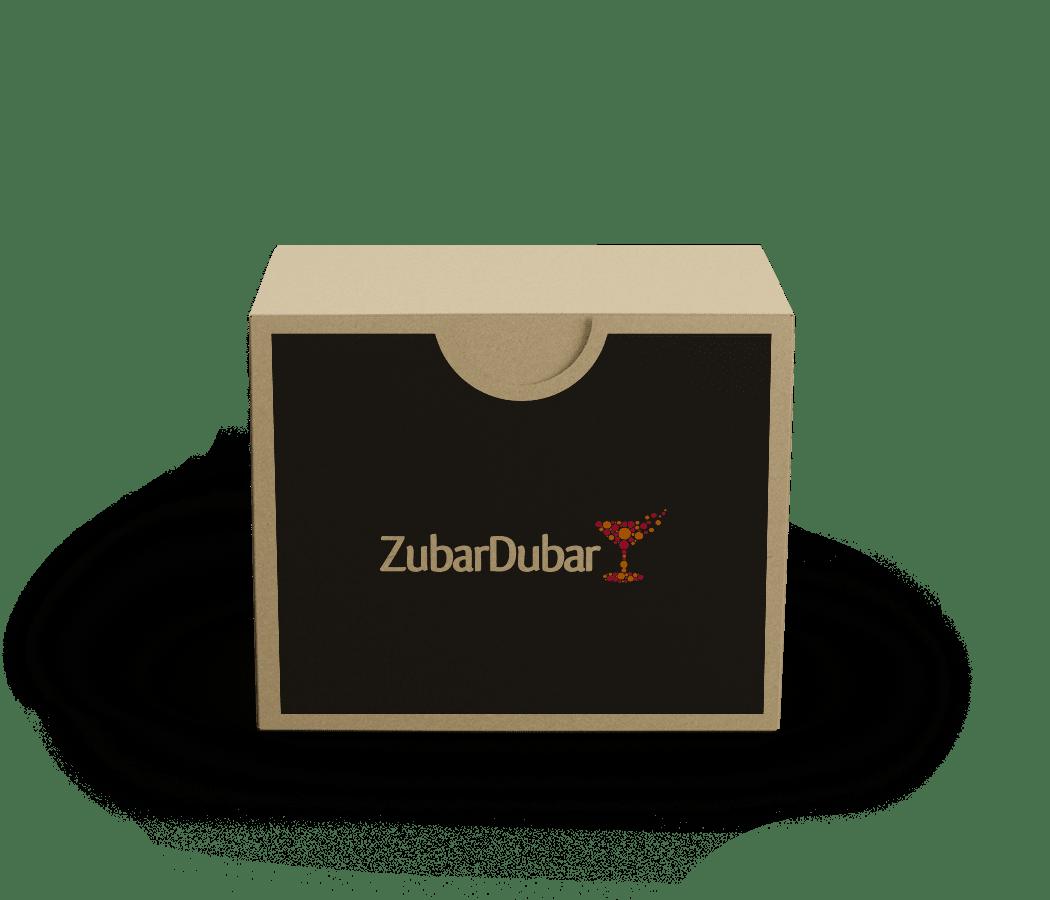 Kit de cóctel para el curso de cóctel virtual de ZubarDubar