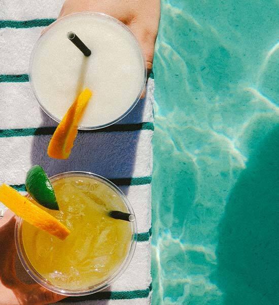 Fiesta en la piscina - Cócteles ad libitum